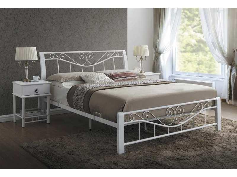 Łóżko Parma 160x200 białe