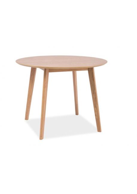 Stół Mosso II okrągły 100 cm dąb