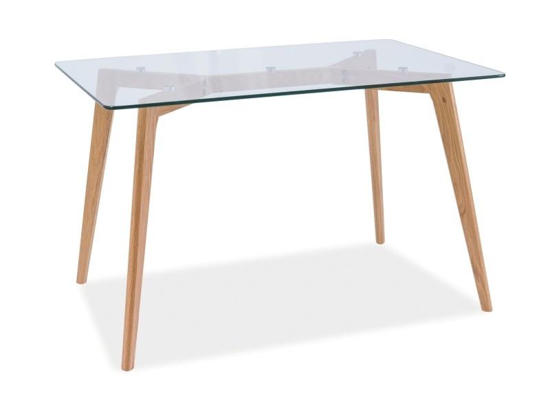 Stół oslo szklany 120x80