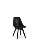Krzesło Kris II czarny stelaż Signal