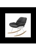 Fotel bujany NINO  płozy bukowe