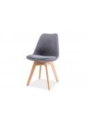Krzesła Dior nogi dębowe