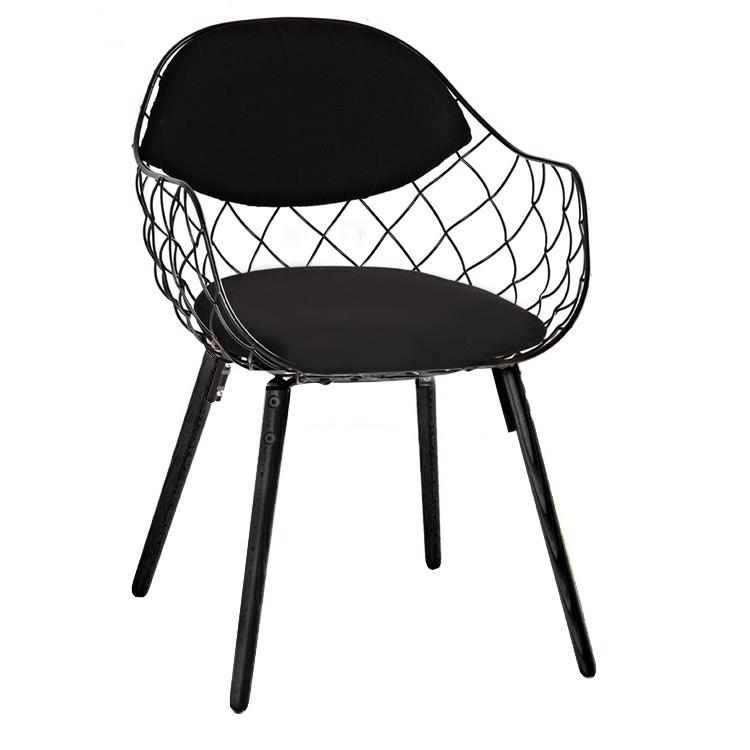 Krzesło DEMON czarne