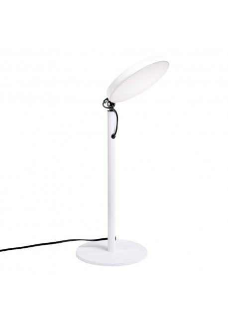 Lampa biurkowa BOBBY biała