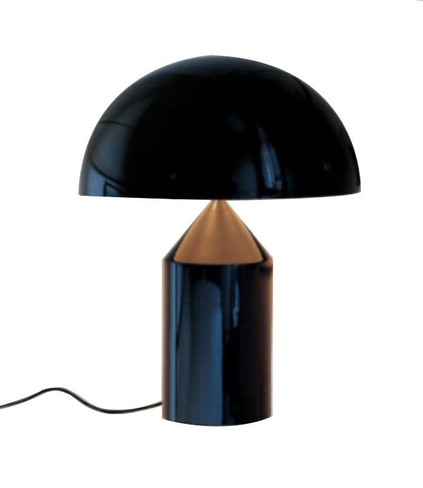 Lampa biurkowa FUNGO czarna
