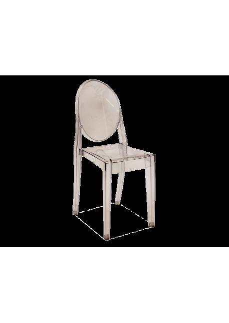 Krzesło Martin transparentne