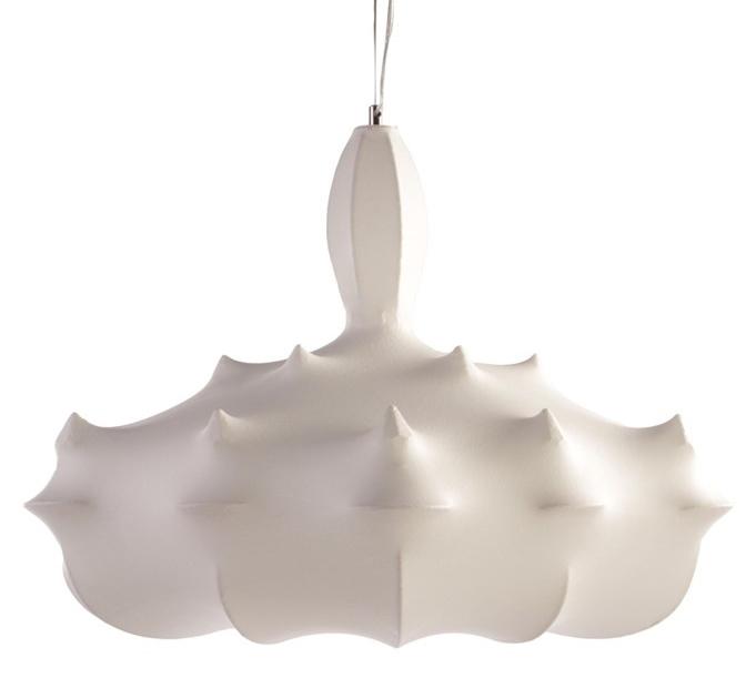 Lampa wisząca RAGNATELA 80 biała - kompozyt