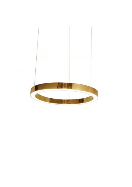 Lampa wisząca RING  złota