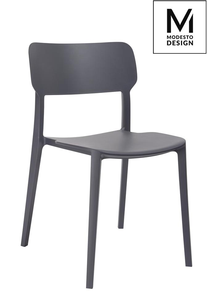 Krzesło AGAT grafitowe Modesto