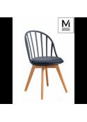 Krzesło ALBERT czarne Modesto