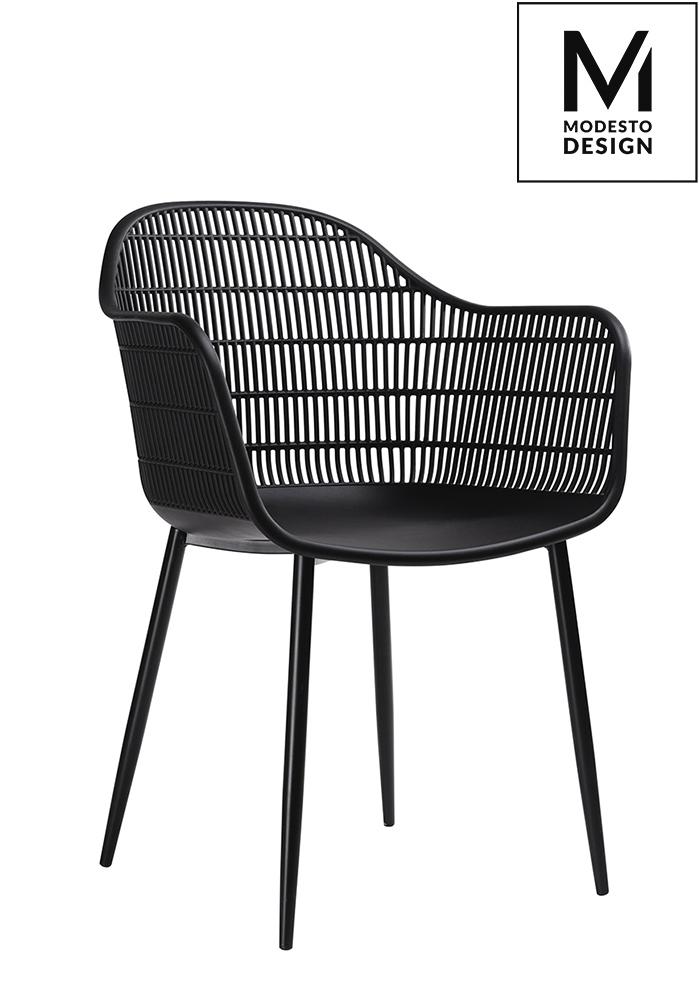 Krzesło BASKET czarne Modesto