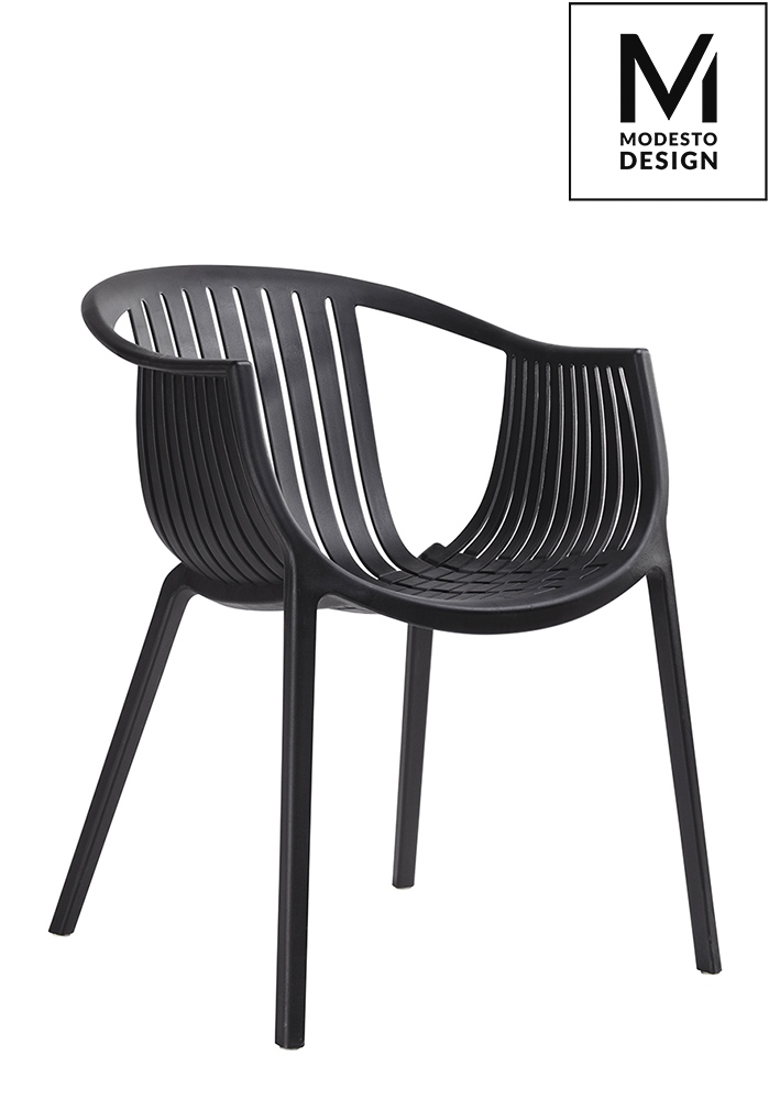Krzesło SOHO czarne Modesto