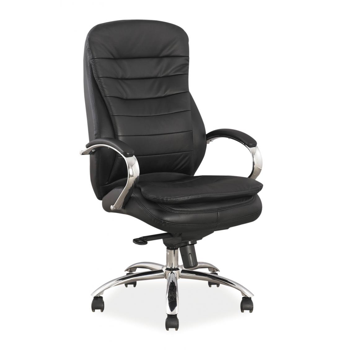 Fotel obrotowy q-154 skórzany