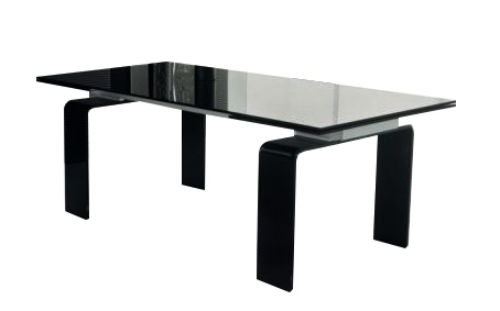 Stół szklany ATLANTIS  160/240  rozkładany