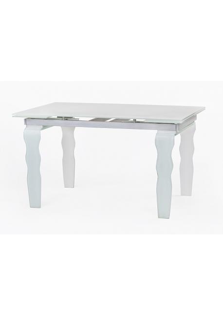 Stół szklany VENDOME OPTI WHITE -  200/300