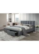 Łóżko Ascot 160x200 tapicerowane Signal