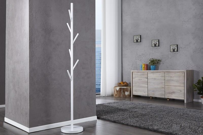 Wieszak stojący TREE biały
