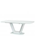 Stół rozkładany Armani biały