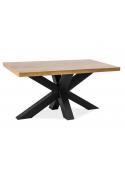 Stół Cross Lity Dąb 150x90