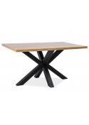 Stół Cross Lity Dąb  180x90