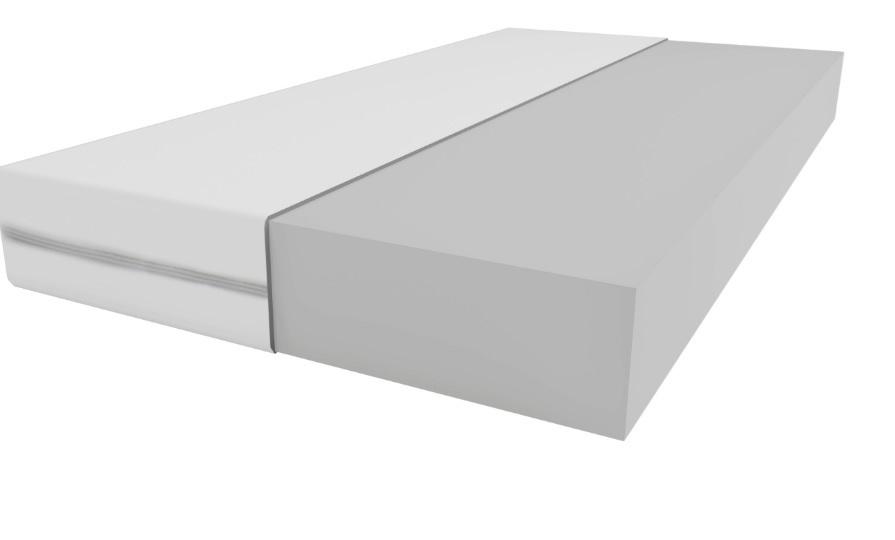 Materac piankowy 90x200 cm  grubość 14 cm
