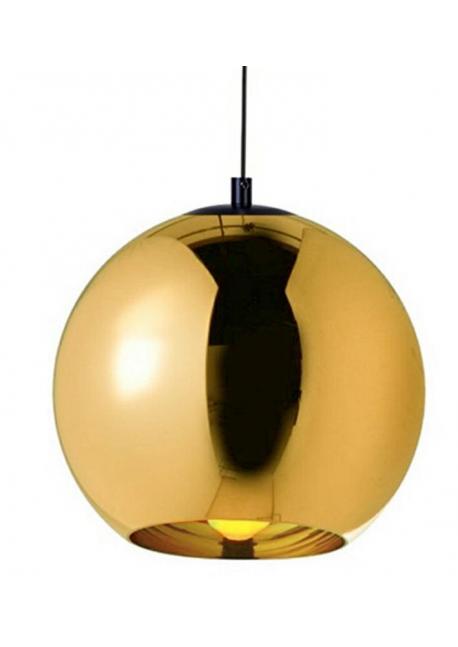 Lampa wisząca BOLLA UP GOLD 45 - szkło metalizowane