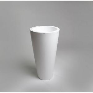 Donica Della 75 cm krystaliczna biel