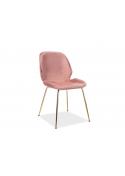 Krzesło Adrien Velvet Signal