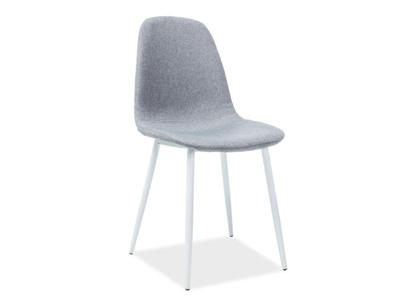 Krzesło Fox białe nogi Signal