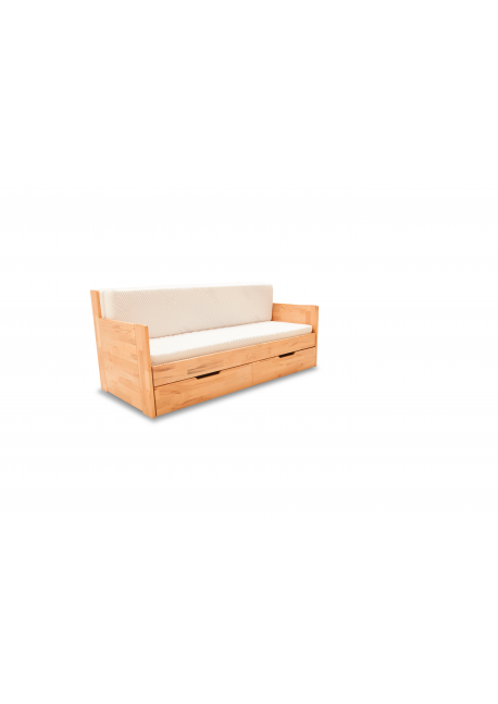 Łóżko Rozkładane Dwuosobowe DUO C 180X200