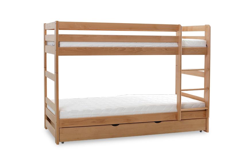 Łóżko Piętrowe Dwuosobowe TWINS PLUS