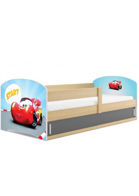 Łóżko LUKI pojedyncze  160x80 sosna