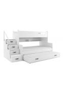 Łóżko Piętrowe Trzyosobowe MAX 3