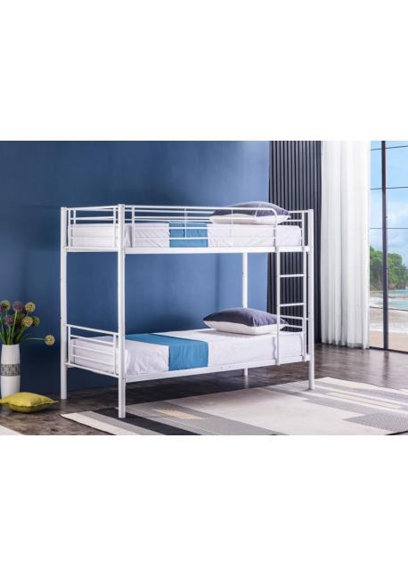 Łóżko Stok 90x200 białe BND006 Furni