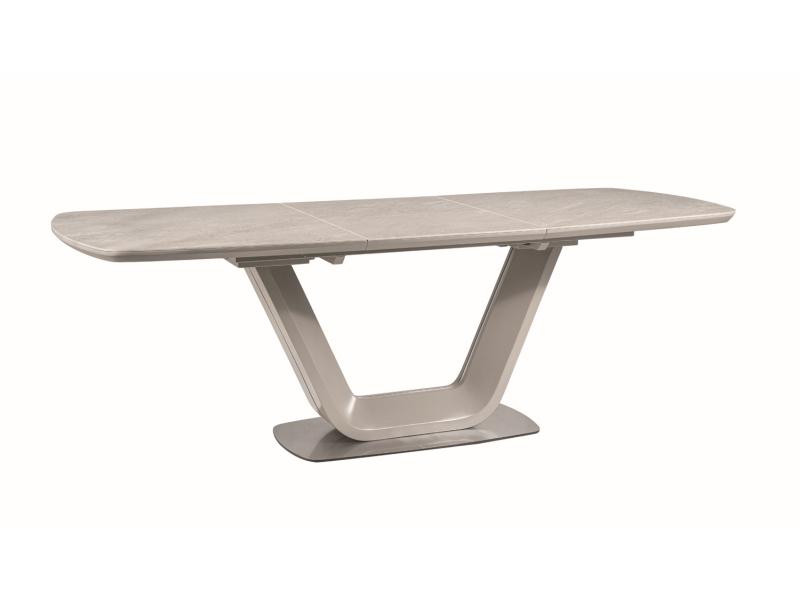 Stół rozkładany Armani Ceramic szary mat Signal