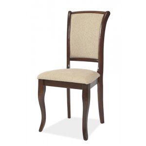 Krzesło drewniane MN-SC ciemny orzech Signal
