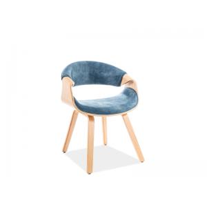 Krzesło Dakota Velvet Signal