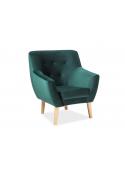 Fotel NORDIC 1 Velvet  aksamit