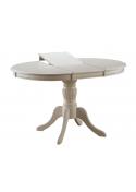 Stół Olivia Okrągły Rozkładany Ecru Signal