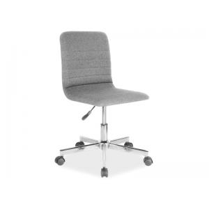 Fotel obrotowy Q-M1 szary