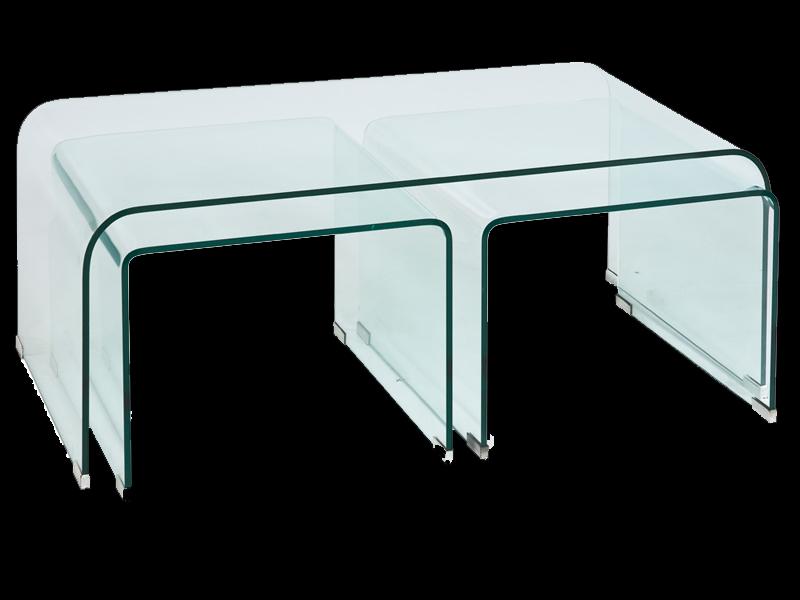 Stolik duży Priam A  120x60 szkło hartowane