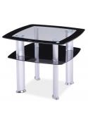 Ława szklana, stolik Daria D 60x60 Signal