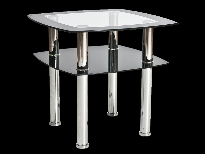 Ława szklana, stolik Rava D 60x60