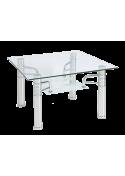 Ława szklana stolik Reni D 60x60 Signal