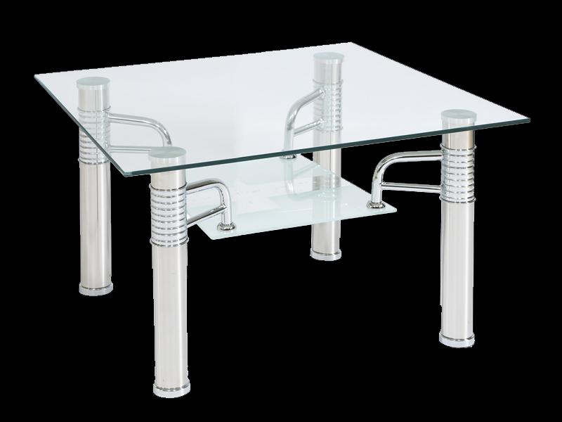 Ława szklana stolik Reni D 60x60