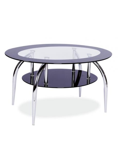 Ława szklana, stolik Loja 100x60