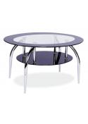 Ława szklana, stolik Loja 100x60 Signal