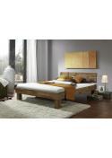 Łóżko dębowe  Albert 180x200
