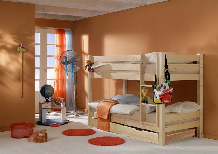 Łóżko piętrowe Tigre 90x200