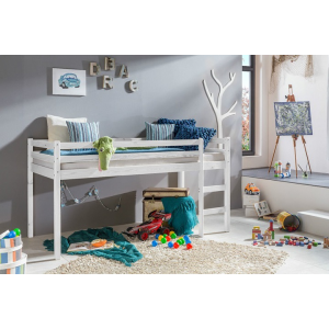 Łóżko piętrowe dziecięce Lupo 90x200
